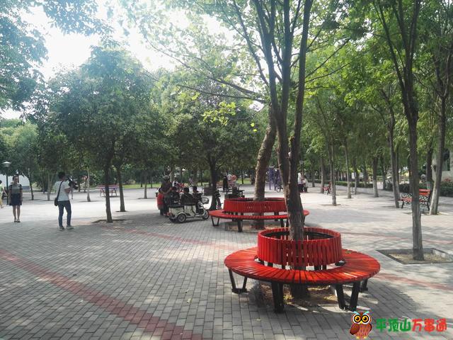宝丰县平宝公园市民休闲娱乐好去处