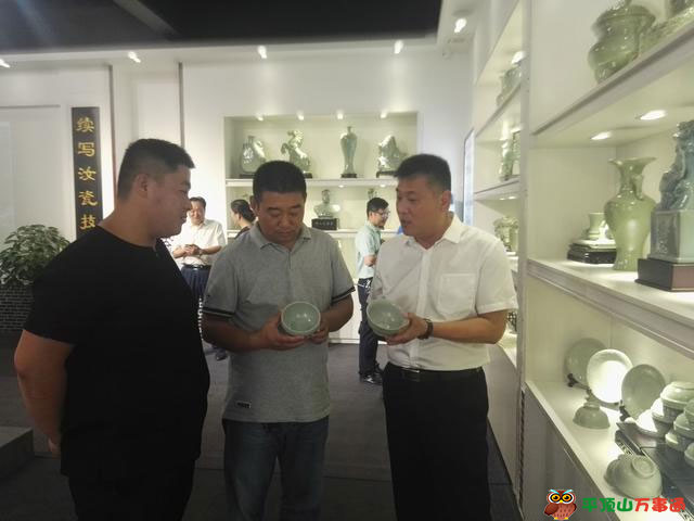 宝丰县大宋宫廷汝窑成立首家加盟店